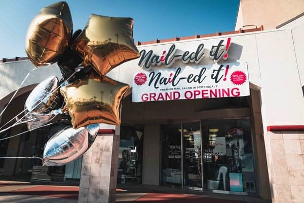 Nail-ed It Salon Scottsdale Grand Opening
